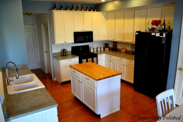 Concrete Countertops Tutorial; Kitchen Renovation Idea