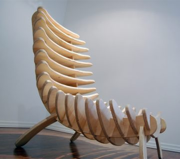 Fishbone Chair Project Plans and Tutorial