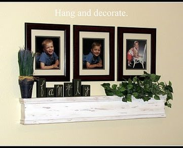 Build a Rustic Shelf Tutorial
