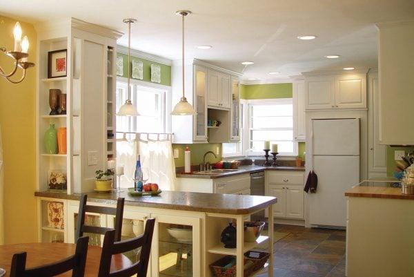 white kitchen renvoation kitchen remodel