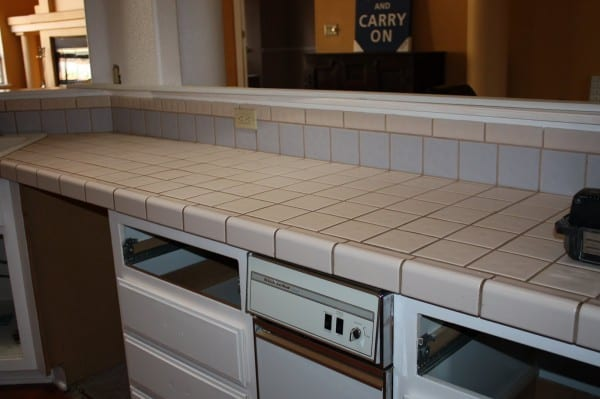 4 Kitchen Redo With DIY Concrete Countertops, By Design Stocker Featured On @Remodelaholic