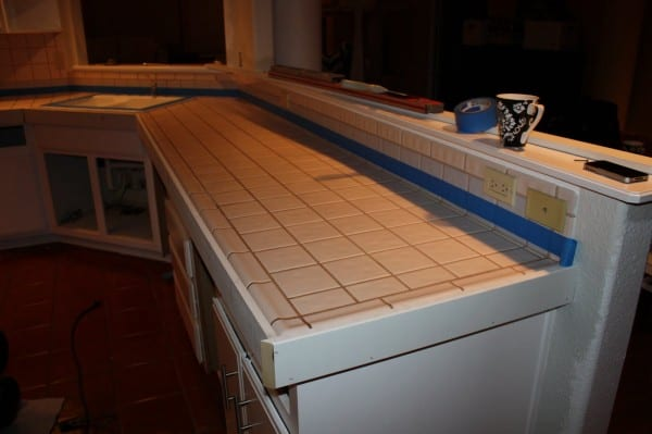 8 How To DIY Concrete Countertops, No Curing Time, By Design Stocker Featured On @Remodelaholic