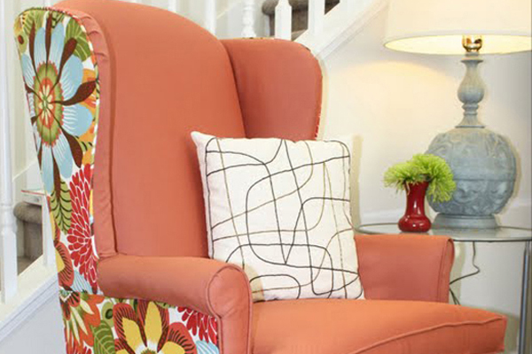 Wingback Chair Reupholstering