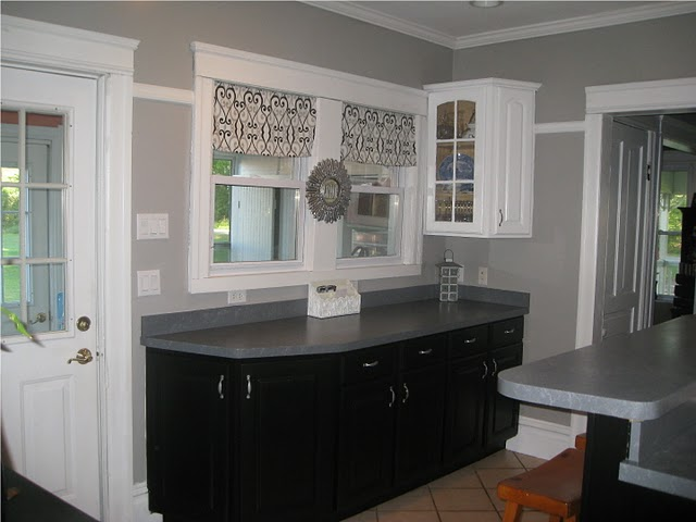 Kitchens Painted Gray remodelaholic | a few updates make all the  difference! kitchen remodel