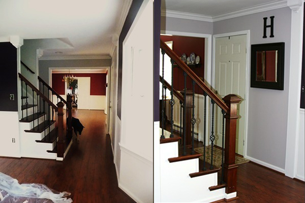 Remodelaholic Beautiful Open Staircase Reveal