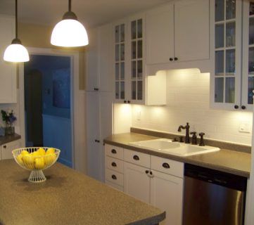 The Blooming Hydrangea Kitchen Remodel and Reveal!