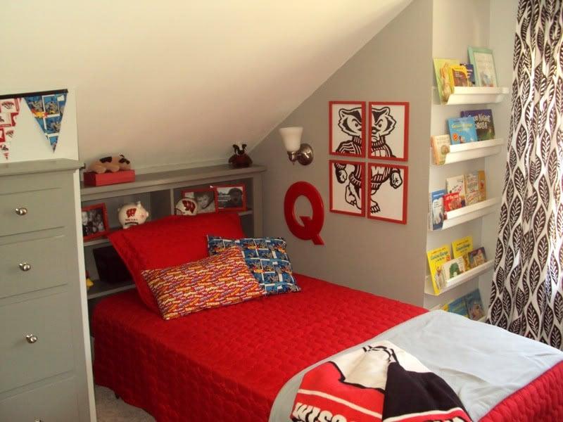 remodelaholic little boys room makeover. Black Bedroom Furniture Sets. Home Design Ideas