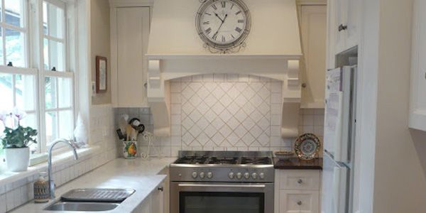 Classic Galley kitchen remodel before and after (11)