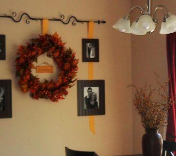 Fall Wall Decor Idea