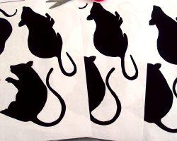 mouse cutouts