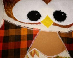 owl pillow free pattern tutorial sewing