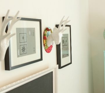 $9.00 DIY Deer Head Decor Idea