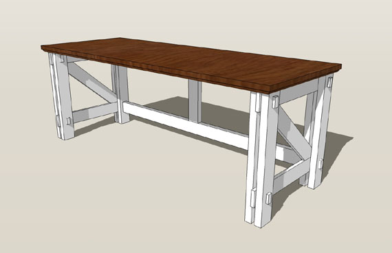 how to build l desk