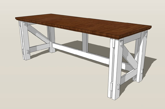 Computer Corner Office Desk – Woodworking Plans