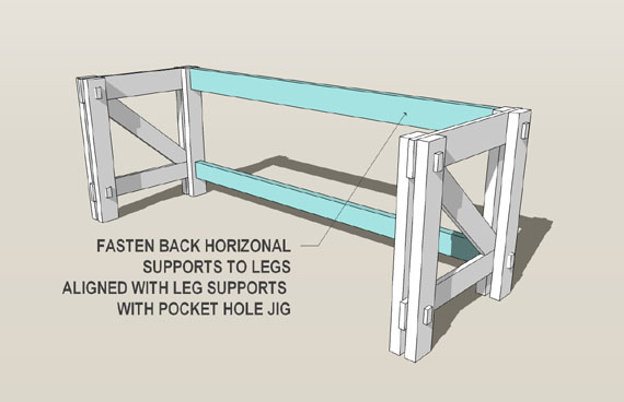 plans a computer desk to build