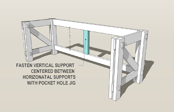 plans for building a computer desk