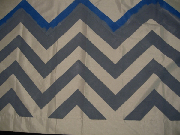 chevron-curtains ombre painted chevron curtains tutorial.1 (600x450)