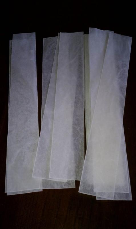 diy faux capiz chandelier 07
