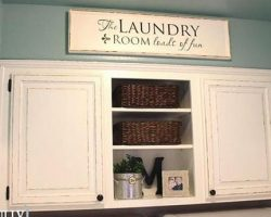 Laundry Room Cabinets AFTER 4