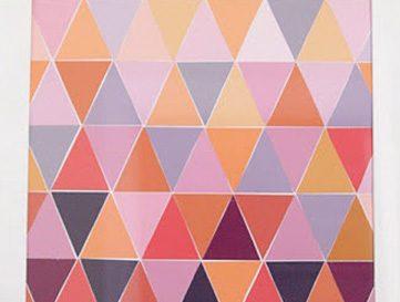 Ombre Paint Chip Art Tutorial