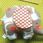 elephant softy-pattern-gift-idea