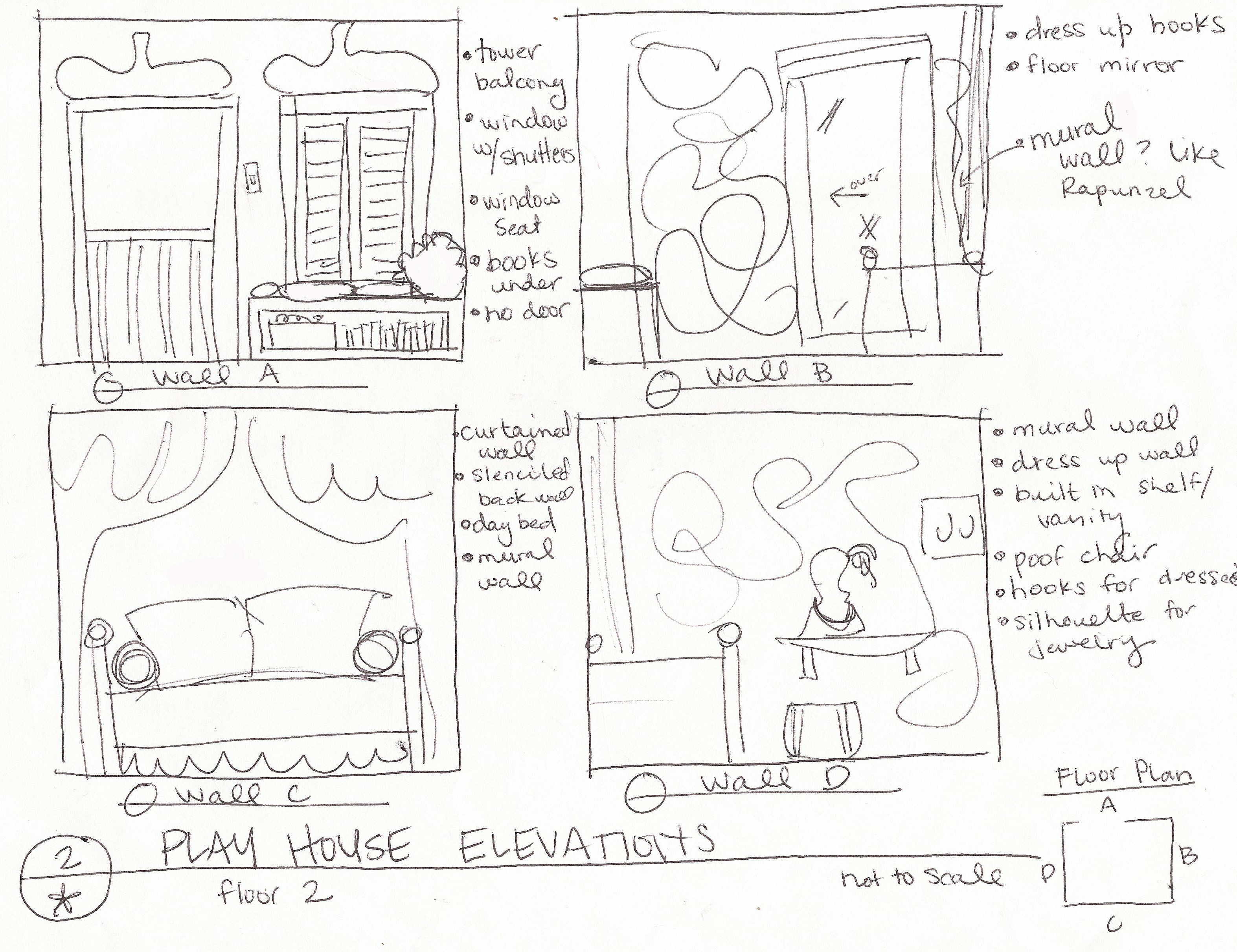 two story playhouse plans