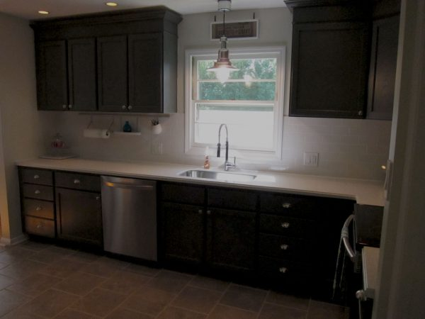 Charcoal Grey Kitchen Cabinets 6 Remodelaholic