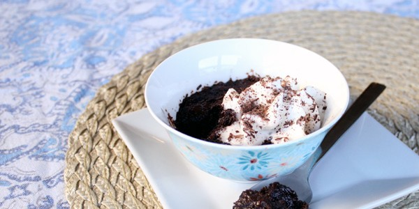 Individual Serving Microwave Chocolate Torte & Recipe Link