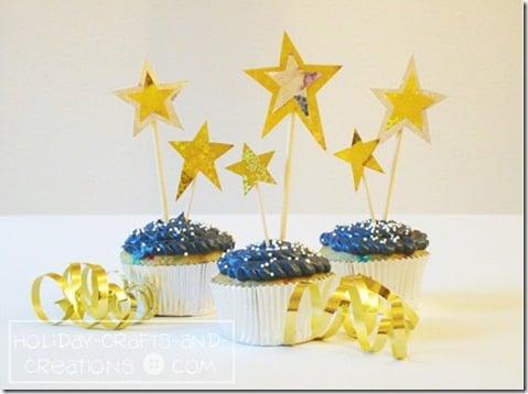 NewYears_Cupcake_Ideas_Stars