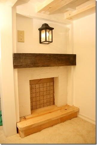 palyhouse firepalce mantel