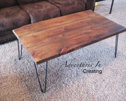 reclaimed wood coffee table project