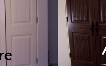 Giving Your Closet Doors Some Character