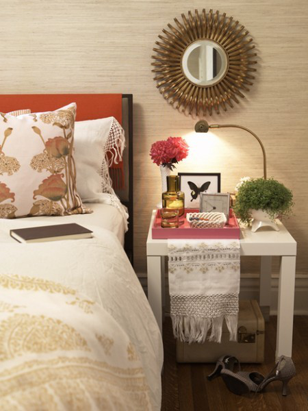 Lovely Guest Bedroom via House & Home
