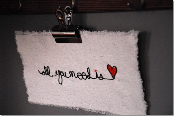 Wire embroidery idea
