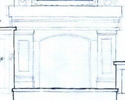mantel sketch plans copy