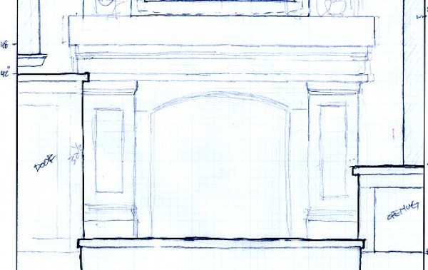 mantel sketch plans copy