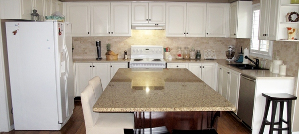Kitchen Renovation Backsplash remodelaholic | kitchen renovation: adding an island