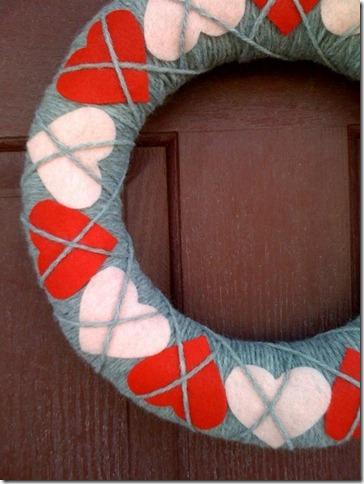 valentine wreath Idea
