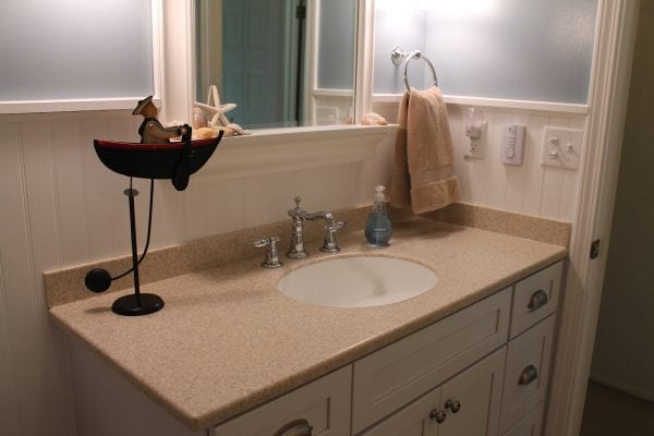 10 How to add light and openness in bathroom remodel, by Elizabeth and Co featured on @Remodelaholic