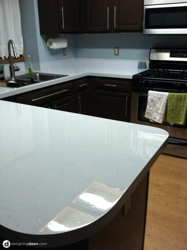 12 How To Redo Kitchen Countertops With Paint, By AD Aesthetic Featured On  Remodelaholic