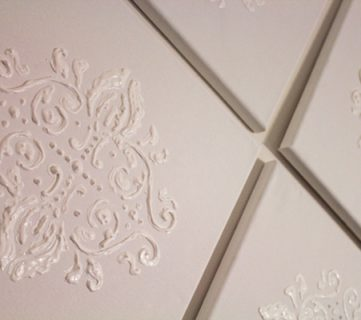 Damask Wall Art Tutorial