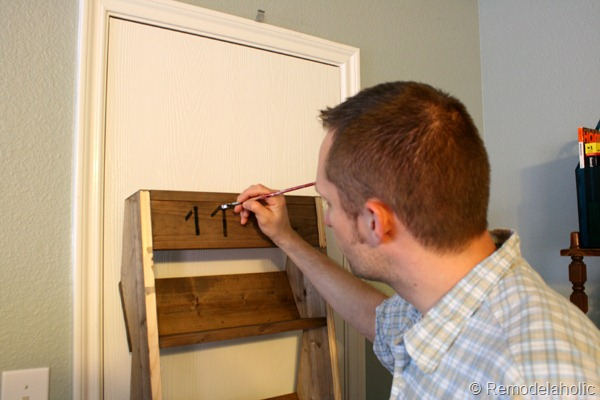 27 How To Paint Numbers On Wood Signs Or Wall Storage Bins Remodelaholic