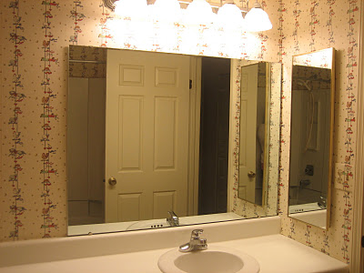 4 Bathroom remake, before, by Elizabeth and Co featured on @Remodelaholic