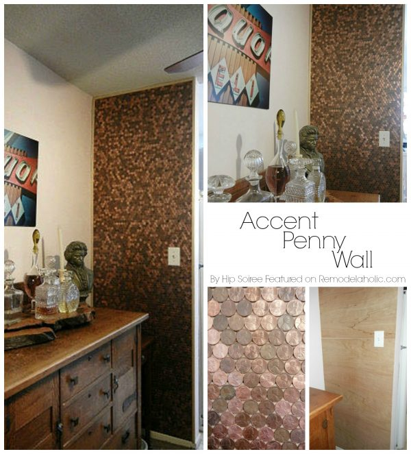 Accent Penny Wall Idea