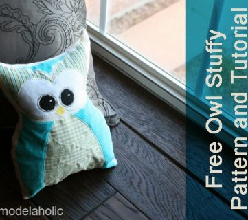Owl Pillow Pattern AT LAST!