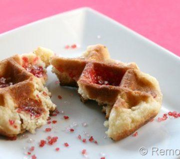 Waffle Iron Sugar Cookies!