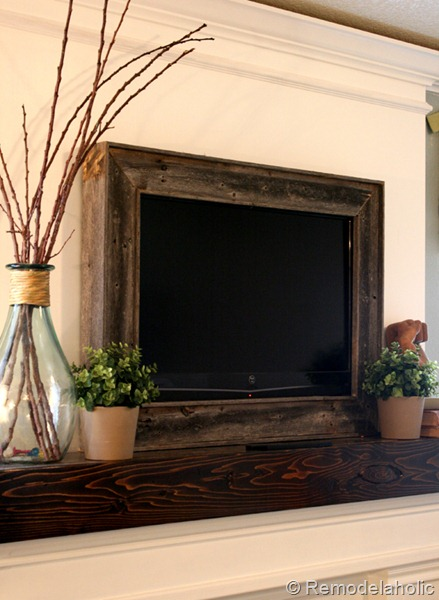 Remodelaholic Framing In A Wall Mount Television