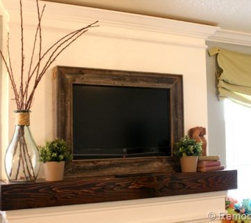 Framing in a Wall Mount Television