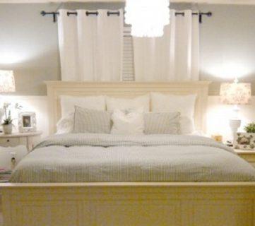 Pottery Barn Inspired Master Bedroom Makeover