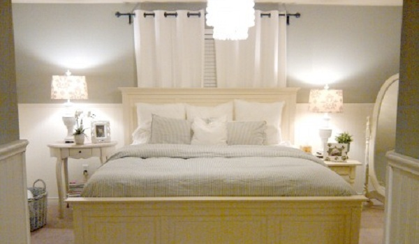 pottery barn inspired master bedroom